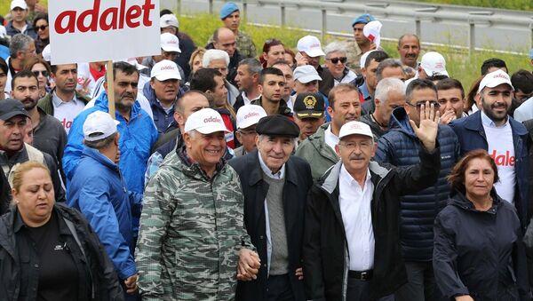 Adalet Yürüyüşü - Sputnik Türkiye