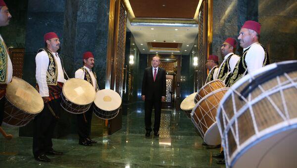 Recep Tayyip Erdoğan / Ramazan davulcusu - Sputnik Türkiye