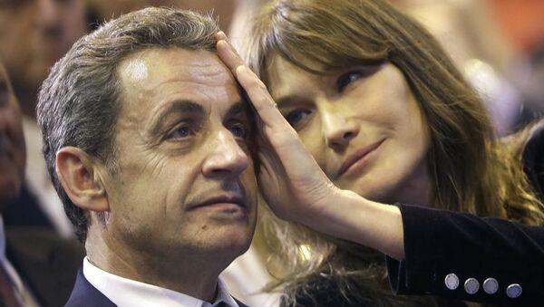 Nicolas Sarkozy - Carla Bruni  - Sputnik Türkiye