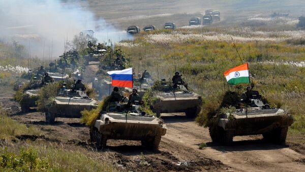 Rusya ve Hindistan orduları - Sputnik Türkiye