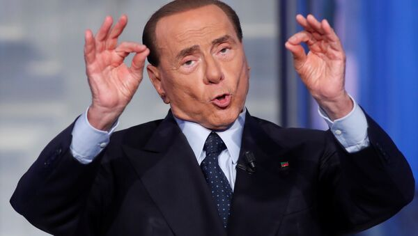 Eski İtalya Başbakanı Silvio Berlusconi - Sputnik Türkiye