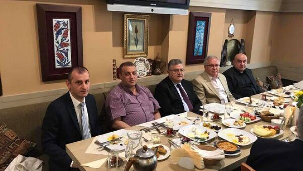 Moskova'da Türk iş dünyası bayramlaştı - Sputnik Türkiye