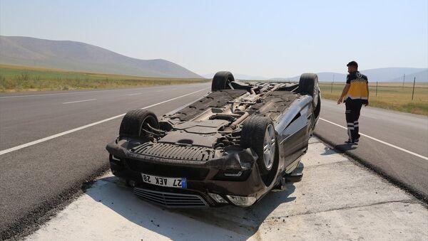 Türkiye'de trafik kazaları - Sputnik Türkiye