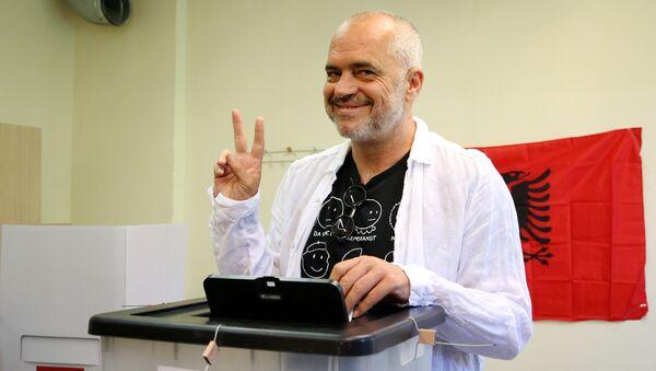 Arnavutluk Başbakanı ve Sosyalist Parti lideri Edi Rama - Sputnik Türkiye