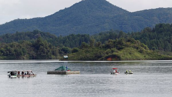 Kolombiya'daki tekne kazası - Sputnik Türkiye