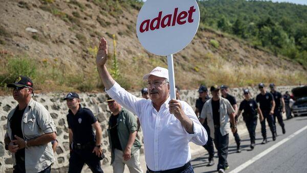 CHP Genel Başkanı Kemal Kılıçdaroğlu - Adalet Yürüyüşü 15. gün - Sputnik Türkiye