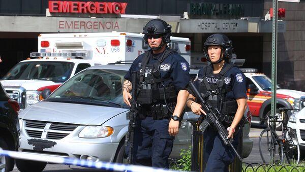 New York'ta Bronx Lebanon hastanesine saldırı - Sputnik Türkiye
