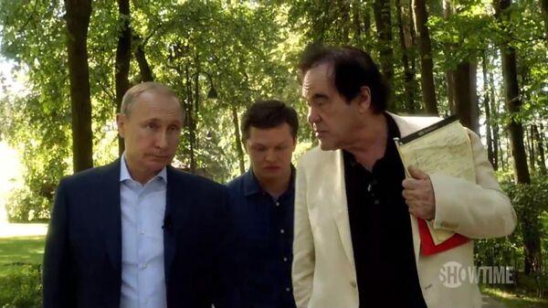 Vladimir Putin - Oliver Stone - Sputnik Türkiye