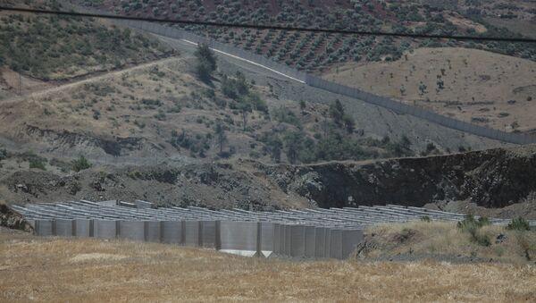 Afrin - Kilis sınırı - Sputnik Türkiye