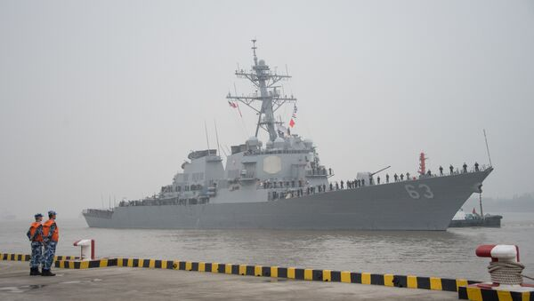 ABD destroyer USS Stethem - Sputnik Türkiye