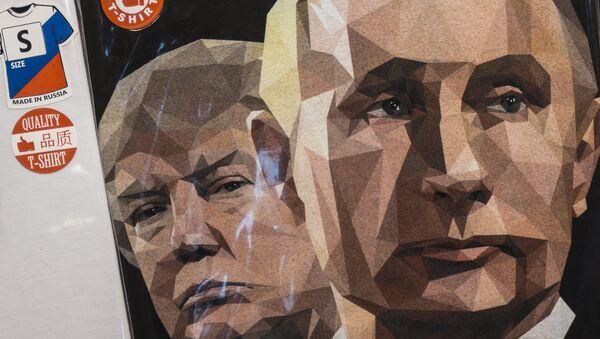 Rusya Devlet Başkanı Vladimir Putin- ABD Başkanı Donald Trump - Sputnik Türkiye