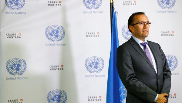 BM Genel Sekreteri'nin Kıbrıs Özel Danışmanı Espen Barth Eide - Sputnik Türkiye