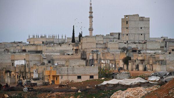 Buildings in Hama, Syria - Sputnik Türkiye