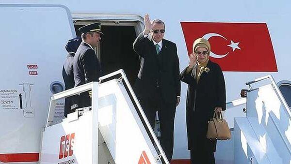 Recep Tayyip Erdoğan - Emine Erdoğan - Sputnik Türkiye