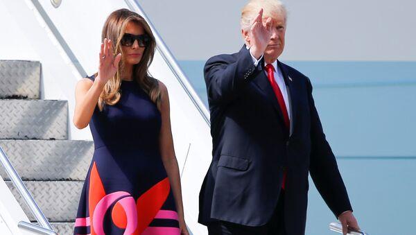 Melania Trump-Donald Trump - Sputnik Türkiye