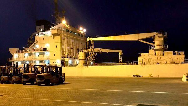 Katar - Türkiye - gıda gemisi - Sputnik Türkiye