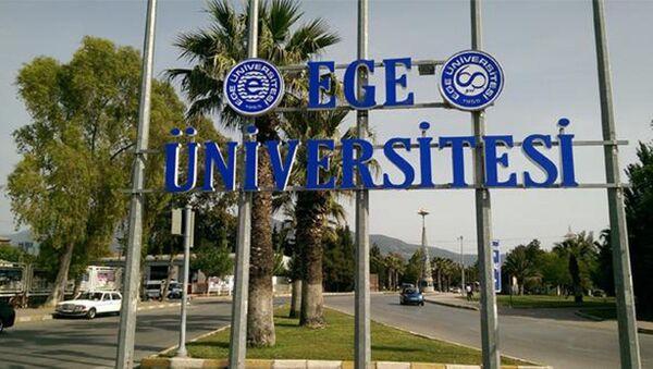 Ege Üniversitesi - Sputnik Türkiye