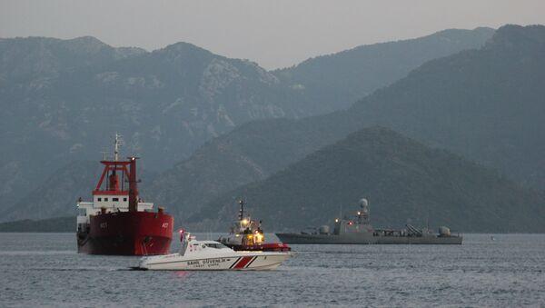 Yunan sahil güvenliği - Sputnik Türkiye