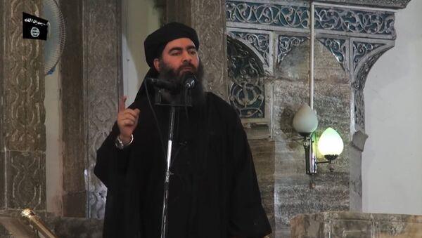 IŞİD lideri Ebu Bekir el Bağdadi - Sputnik Türkiye