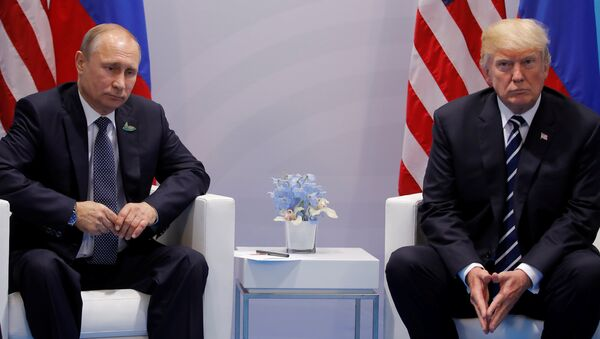 Donald Trump- Vladimir Putin - Sputnik Türkiye