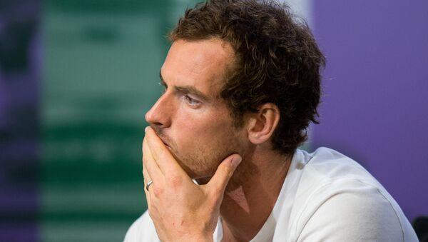 Andy Murray'den cinsiyteçi muhabire tepki - Sputnik Türkiye