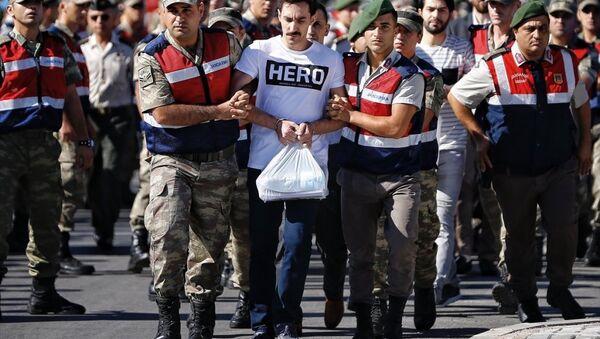 Erdoğan'a suikast davasında tişört gerginliği - Gökhan Güçlü - Sputnik Türkiye