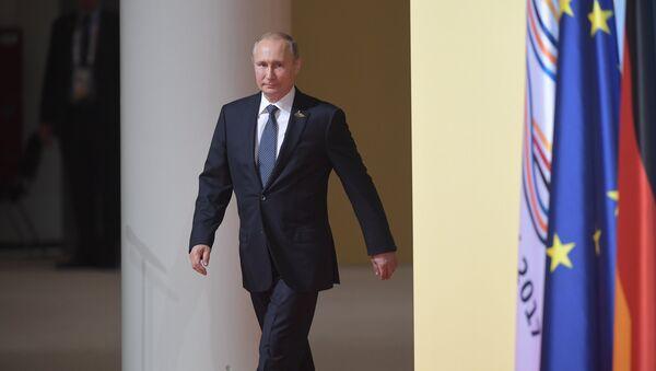 Rusya Devlet Başkanı Vladimir Putin- G20 - Sputnik Türkiye