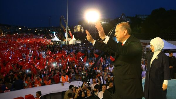 15 Temmuz Darbe Girişimi'nin birinci yılı - Sputnik Türkiye