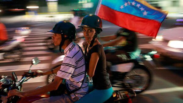 Venezüella'da sembolik seçim - Sputnik Türkiye