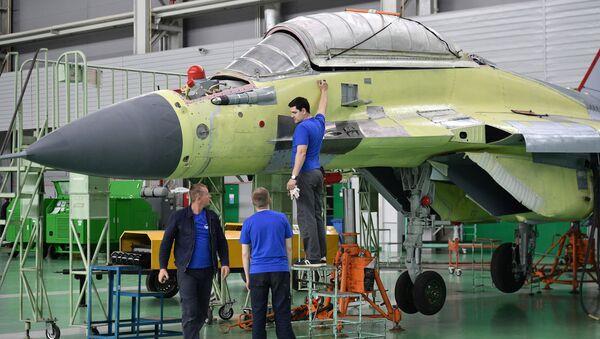 MiG uçaklarını üreten uçak fabrikası - Sputnik Türkiye
