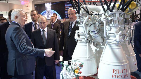 MAKS-2017 Uluslararası Havacılık ve Uzay Fuarı - Sputnik Türkiye