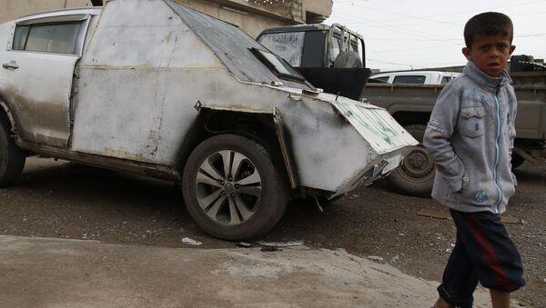 IŞİD. araba - Sputnik Türkiye