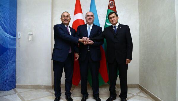 Türkiye-Azerbaycan-Türkmenistan Üçlü Dışişleri Bakanları 4. Toplantısı - Sputnik Türkiye