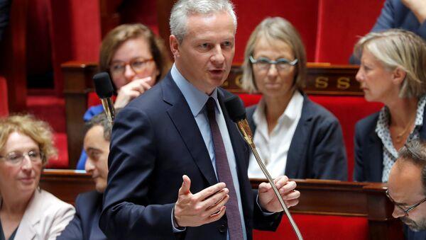 Fransa Ekonomi Bakanı Bruno Le Maire - Sputnik Türkiye
