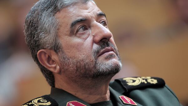 İran Devrim Muhafızları Komutanı Muhammed Ali Caferi - Sputnik Türkiye