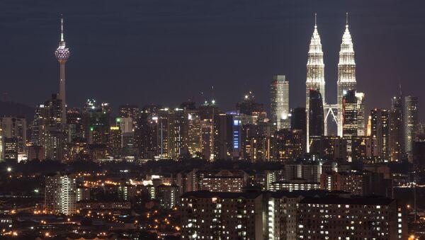 Başkent Kuala Lumpur panaromik görünüm, Malezya - Sputnik Türkiye