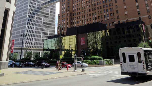 The Guardian newspaper building in Detroit - Sputnik Türkiye
