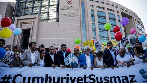 Cumhuriyet Gazetesi davası - Sputnik Türkiye