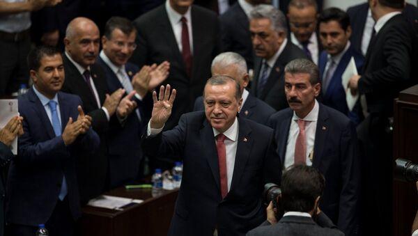 Recep Tayyip Erdoğan / AK Parti Grup Toplantısı - Sputnik Türkiye