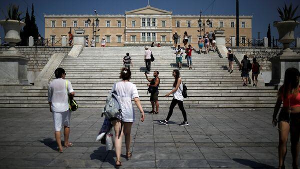Atina / Sintagma Meydanı / Yunanistan Parlamentosu - Vouli - Sputnik Türkiye