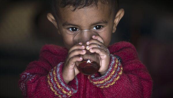 Suriyeli sığınmacı çocuk - Sputnik Türkiye