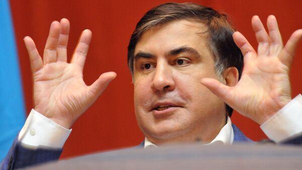 Eski Gürcistan Başbakanı ve eski Odessa Valisi Mihail Saakaşvili - Sputnik Türkiye