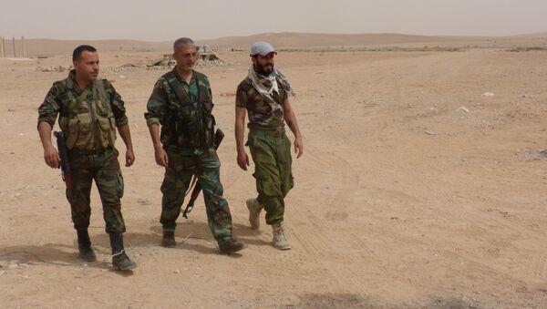 Suriye askerleri - Sputnik Türkiye