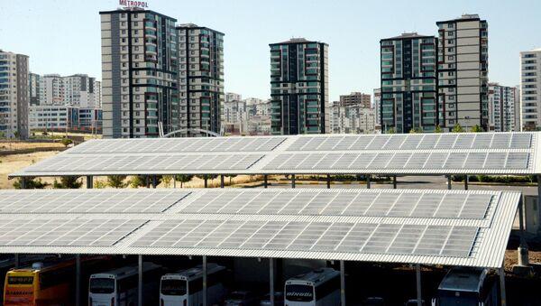 Diyarbakır - güneş enerjisi - otogar - Sputnik Türkiye