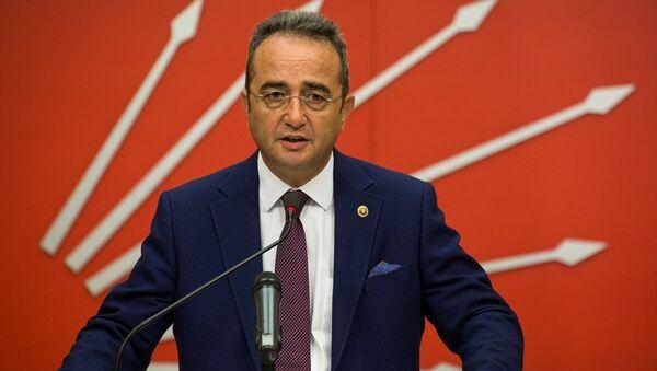 CHP Genel Başkan Yardımcısı ve Parti Sözcüsü Bülent Tezcan - Sputnik Türkiye