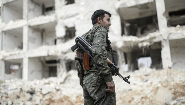 Kobani - YPG - Sputnik Türkiye