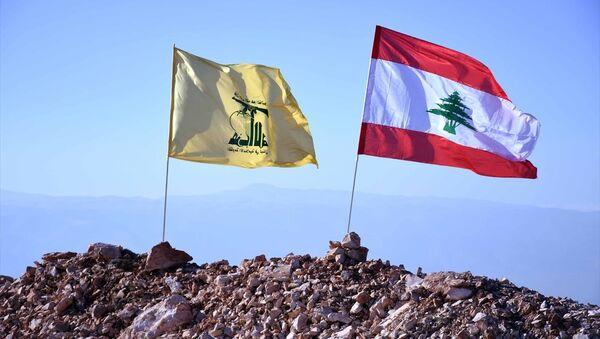 Hizbullah- Lübnan bayrakları - Sputnik Türkiye