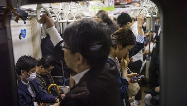 Tokyo metrosu - Sputnik Türkiye