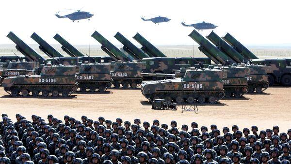 Çin Halk Kurtuluş Ordusu 90. Kuruluş yıldönümünü kutladı - Sputnik Türkiye