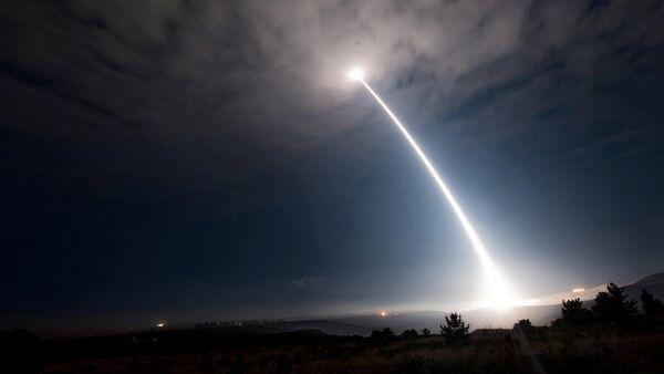ABD / Kıtalararası balistik füze denemesi - Sputnik Türkiye